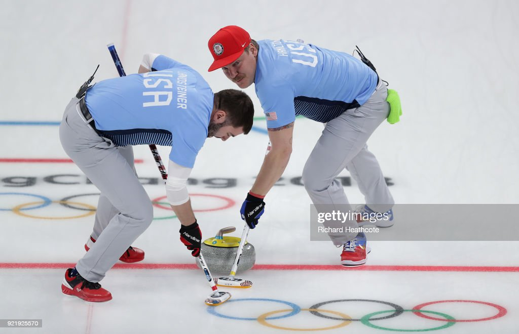 Curling - Winter Olympics Day 12