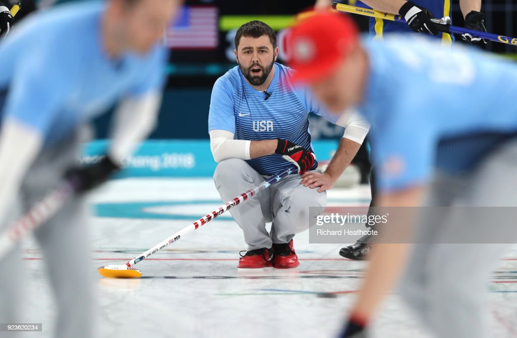 Curling - Winter Olympics Day 15