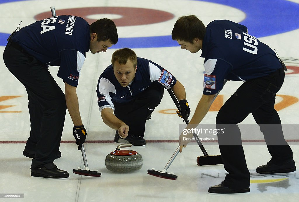 Curling Olympic Qualification Tournament - Day 5