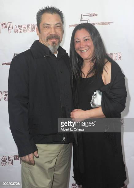 John Lane and Amy Countermash Brunner arrive for the Cast And Crew Screening Of 5th Passenger held at TCL Chinese 6 Theatres on December 13 2017 in...