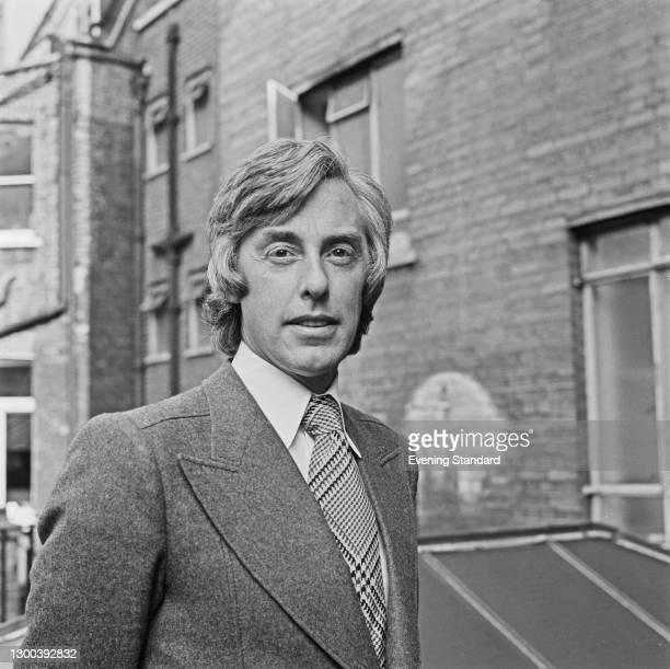 John Langberg, a fashion designer for Christian Dior, in London, UK, 11th September 1972.