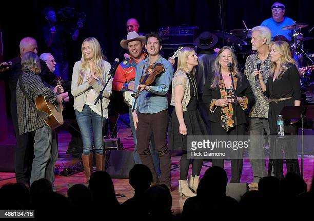 John Langford Steve Young Holly Williams Critter Fugua Ketch Secor Ocena Gayden Tracy Nelson Ron Cornelius ans Deana Carter perform during Listen To...
