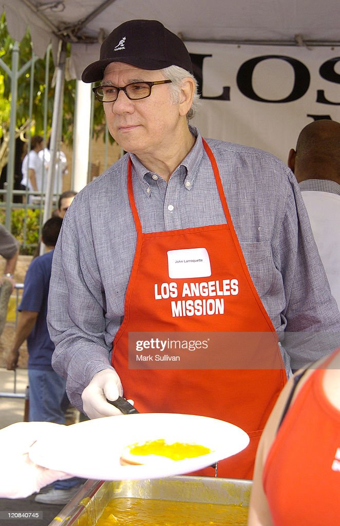 John Larroquette during Los Angeles Mission 2004 Easter Celebration at Downtown Los Angeles in Los Angeles, California, United States.