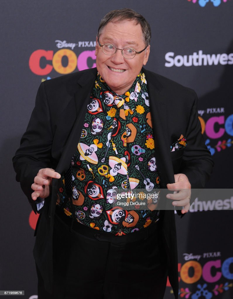 John Lasseter arrives at the premiere of Disney Pixar's 'Coco' at El Capitan Theatre on November 8, 2017 in Los Angeles, California.