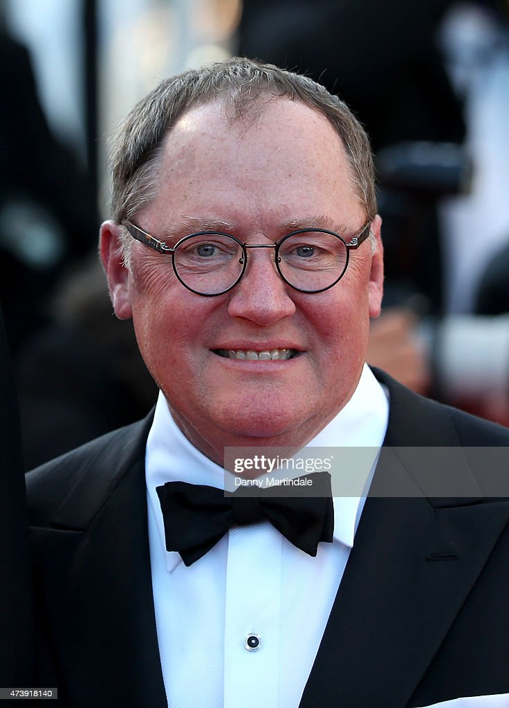 John Lasseter attends the 'Inside Out' premiere during the 68th annual Cannes Film Festival on May 18, 2015 in Cannes, France.