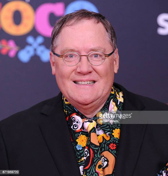 John Lasseter attends the premiere of Coco at El Capitan Theatre on November 8 2017 in Los Angeles California