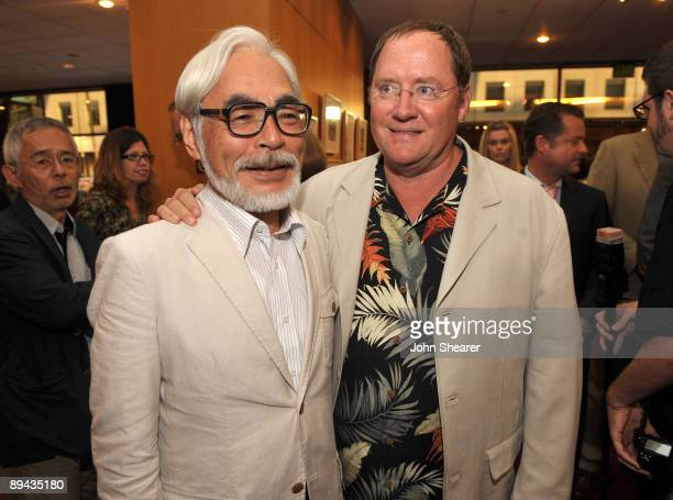 John Lasseter chief creative officer of Pixar and Disney Animation Studios and principal creative advisor of Walt Disney Imagineering and Japanese...