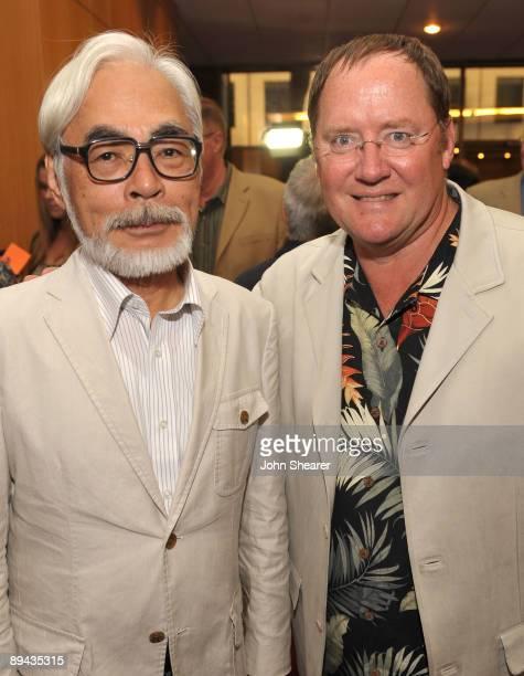 John Lasseter chief creative officer of Pixar and Disney Animation Studios and principal creative advisor of Walt Disney Imagineering and Japanese...