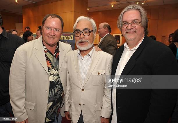 John Lasseter chief creative officer of Pixar and Disney Animation Studios and principal creative advisor of Walt Disney Imagineering Japanese film...