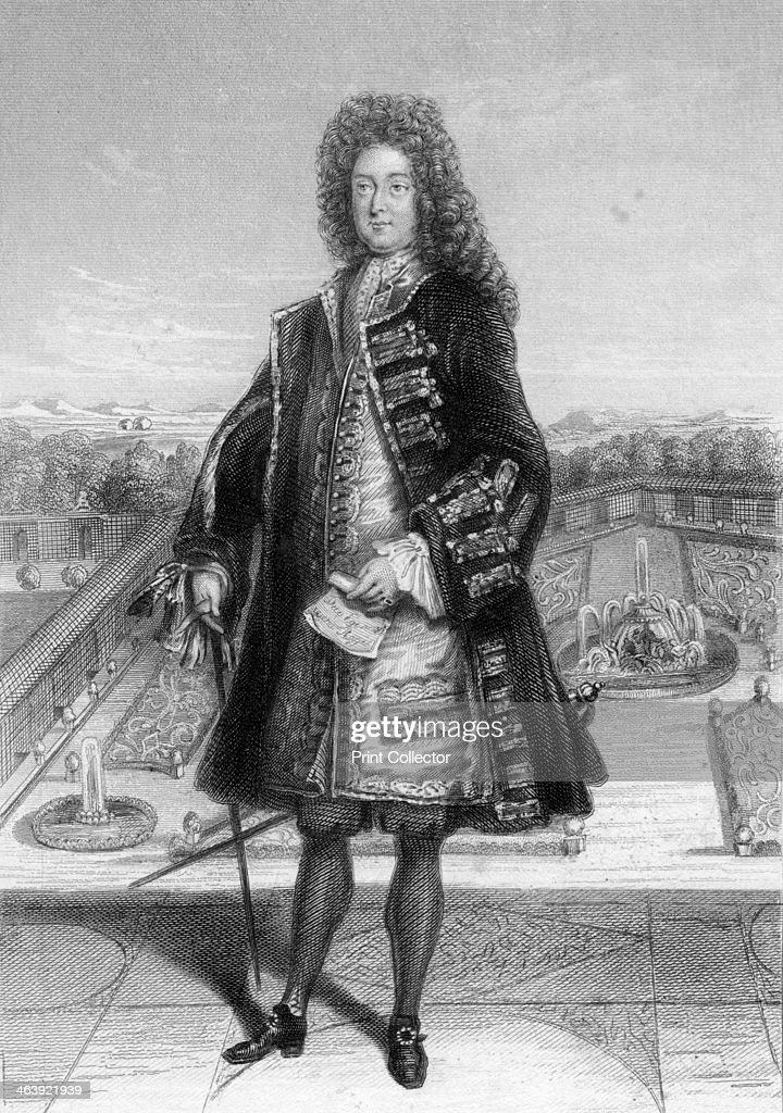 John Law, Comptroller General of France, 1720 (1841). : News Photo