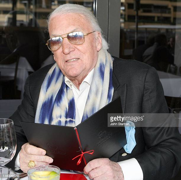 John Laws during Variety Wharfies Lunch June 27 2007 at Woolloomooloo Finger Wharf in Sydney NSW Australia