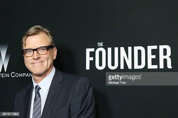 John Lee Hancock arrives at the Los Angeles premiere of 'The Founder' held at ArcLight Cinemas Cinerama Dome on January 11 2017 in Hollywood...