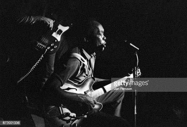 John Lee Hooker performing at Club Revolution Copenhagen Denmark June 1969