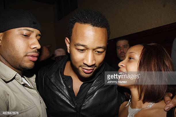 John Legend and His Family attend Vaughn Anthony's Birthday Bash Hosted by John Legend on May 22 2008 in New York City
