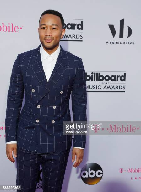 John Legend arrives at the 2017 Billboard Music Awards presented by Virginia Black at TMobile Arena on May 21 2017 in Las Vegas Nevada
