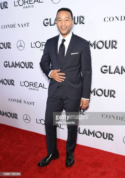 John Legend attends Glamour Women of the Year Awards 2018 at Spring Studios on November 12 2018 in New York City