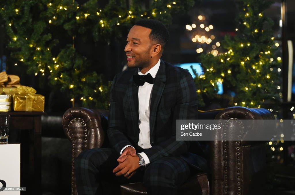 John Legend: A Legendary Christmas Powered By Pandora x Express : News Photo