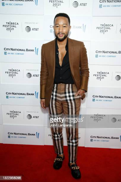 """John Legend attends """"Legend of the Underground"""" during the 2021 Tribeca Festival on June 10, 2021 in New York City."""