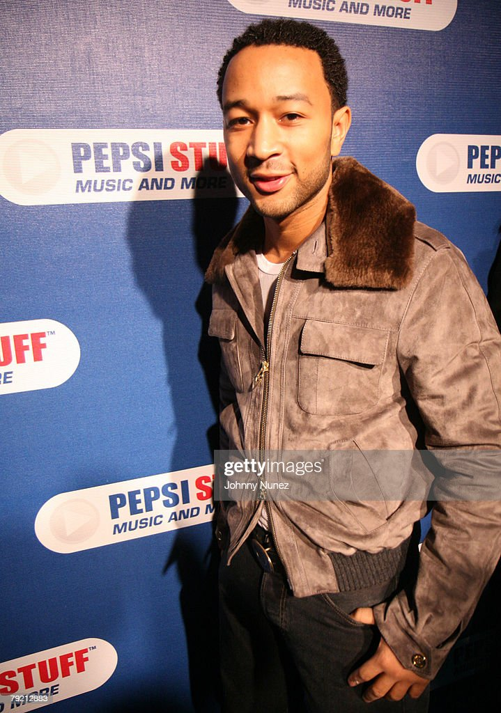 John Legend attends Pepsi Stuff Concert with John Legend and