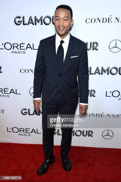 John Legend attends the 2018 Glamour Women Of The Year Awards Women Rise on November 12 2018 in New York City