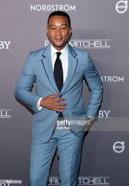 John Legend attends the 2019 Baby2Baby Gala presented by Paul Mitchell on November 09 2019 in Los Angeles California