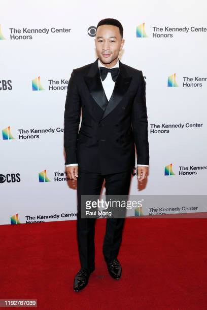 John Legend attends the 42nd Annual Kennedy Center Honors Kennedy Center on December 08 2019 in Washington DC