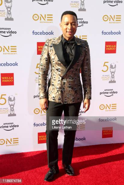 John Legend attends the 50th NAACP Image Awards at Dolby Theatre on March 30 2019 in Hollywood California
