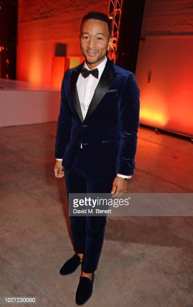 John Legend attends the GQ Men of the Year Awards 2018 in association with HUGO BOSS at Tate Modern on September 5 2018 in London England