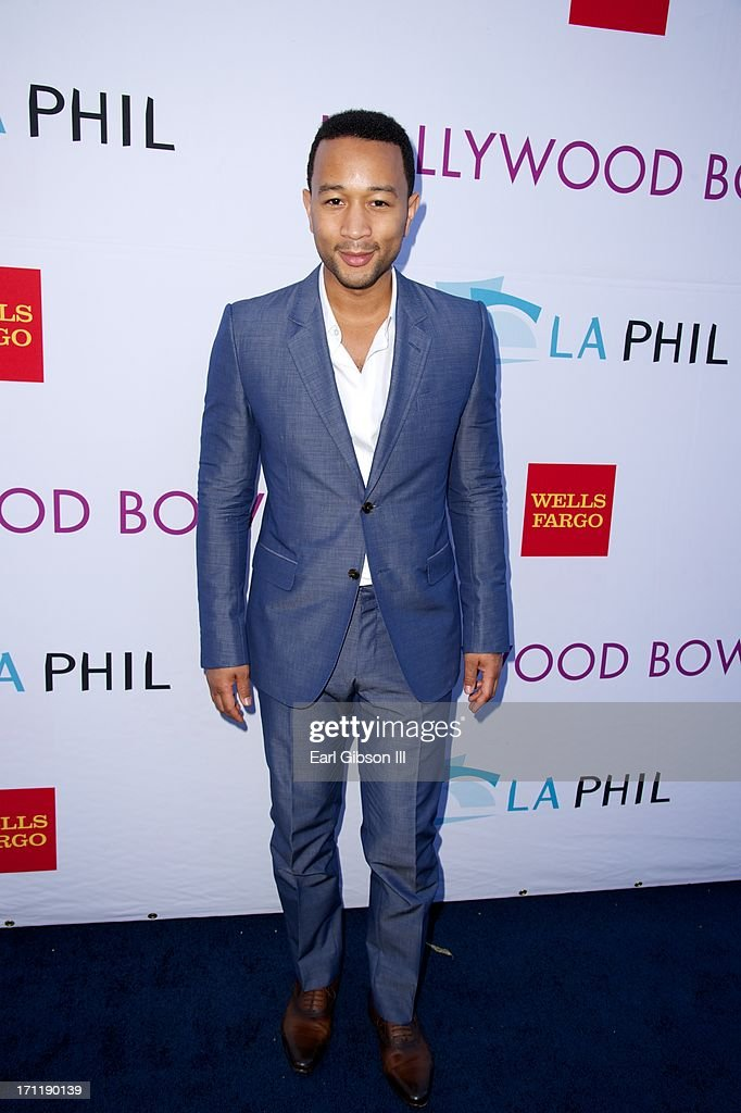John Legend attends the Hollywood Bowl Hall Of Fame Opening Night at The Hollywood Bowl on June 22, 2013 in Los Angeles, California.