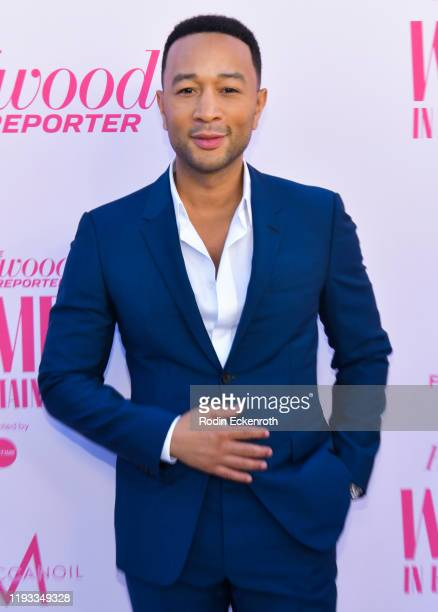 John Legend attends The Hollywood Reporter's Annual Women in Entertainment Breakfast Gala at Milk Studios on December 11, 2019 in Hollywood,...
