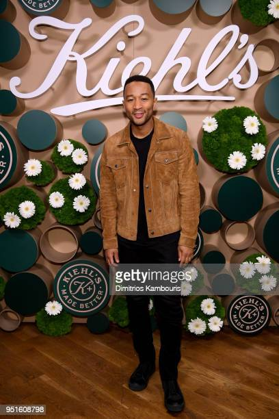 John Legend attends the Kiehl's Made Better launch party on April 26 2018 in Brooklyn City