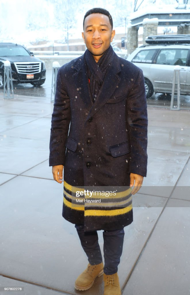 John Legend attends The Making of 'MONSTER' Panel presented in partnership with SAG-AFTRA at Buona Vita on January 20, 2018 in Park City, Utah.