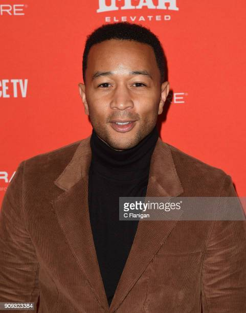 John Legend attends the 'Monster' Premiere during the 2018 Sundance Film Festival at Eccles Center Theatre on January 22 2018 in Park City Utah