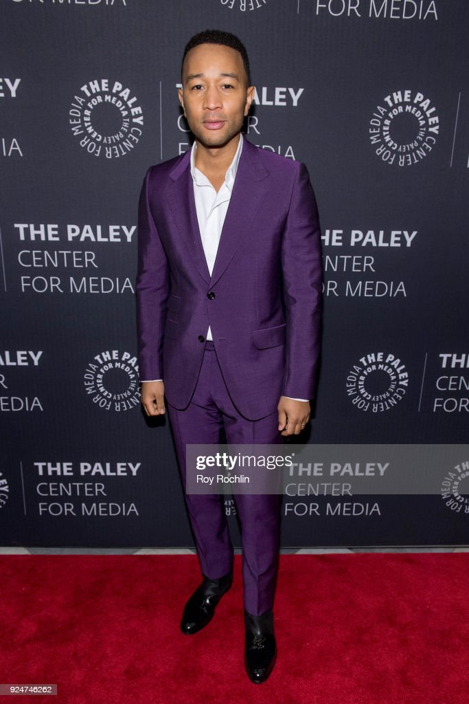 John Legend attends The Paley Center for Media presents: Behind The Scenes: Jesus Christ Superstar Live In Concert at The Paley Center for Media on February 26, 2018 in New York City.