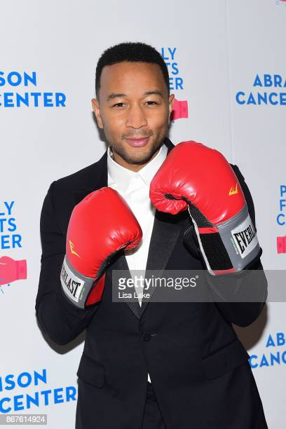 John Legend attends the Philly Fights Cancer Round 3 Fundraiser for The Abramson Cancer Center at Penn Medicine on October 28 2017 in Philadelphia...