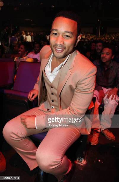 John Legend attends the Soul Train Awards 2012 at Planet Hollywood Casino Resort on November 8 2012 in Las Vegas Nevada