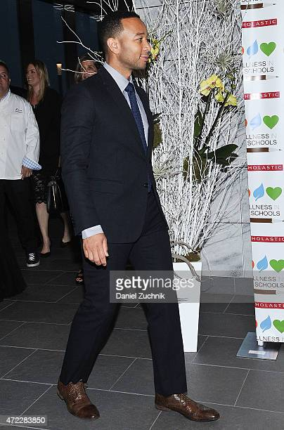 John Legend attends the Wellness In The Schools 10th Anniversary Gala at Riverpark on May 5, 2015 in New York City.