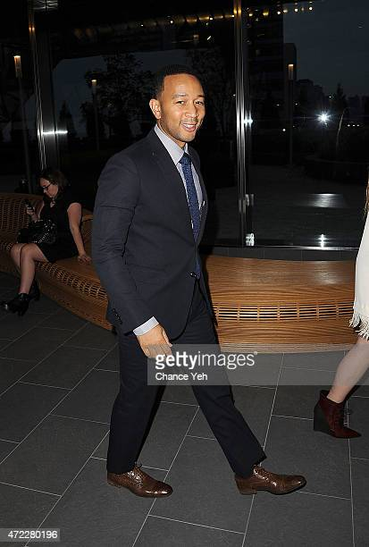 John Legend attends Wellness In The Schools 10th Anniversary Gala at Riverpark on May 5, 2015 in New York City.