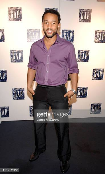 John Legend during Gap Presents Exclusive John Legend Concert at The Supper Club in New York City New York United States