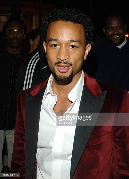 """John Legend during GQ and Jaguar Present """"The Roof is on Fire"""" Sponsored by Valentino - Inside at Museum of Television and Radio in Los Angeles,..."""
