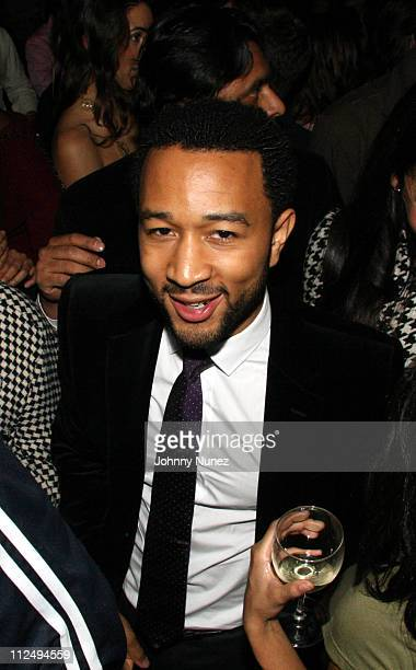 John Legend during John Legend Album Once Again Release After Party Hosted by Unik and Francois Henry Bennahmias of Audemars Piguet at PM in New York...