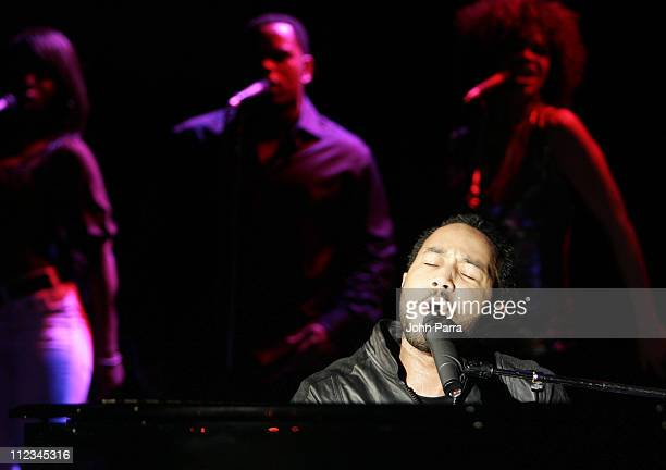 John Legend during John Legend in Concert at Club Revolution in Fort Lauderdale November 28 2006 at Club Revolution in Fort Lauderdale Florida United...