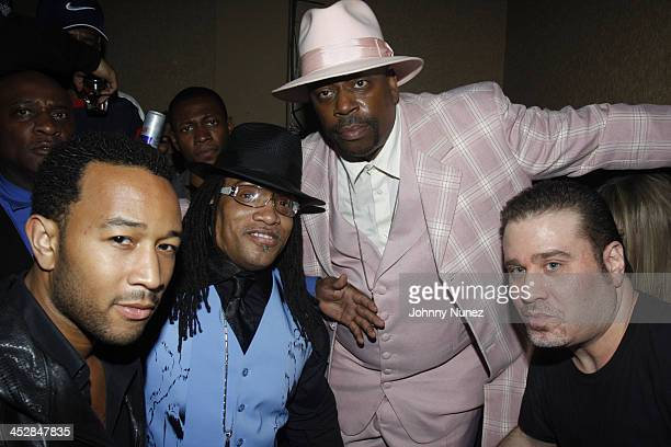 John Legend Melly Mel Grand Master Caz and Noel Ashman attend Vaughn Anthony's Birthday Bash Hosted by John Legend on May 22 2008 in New York City