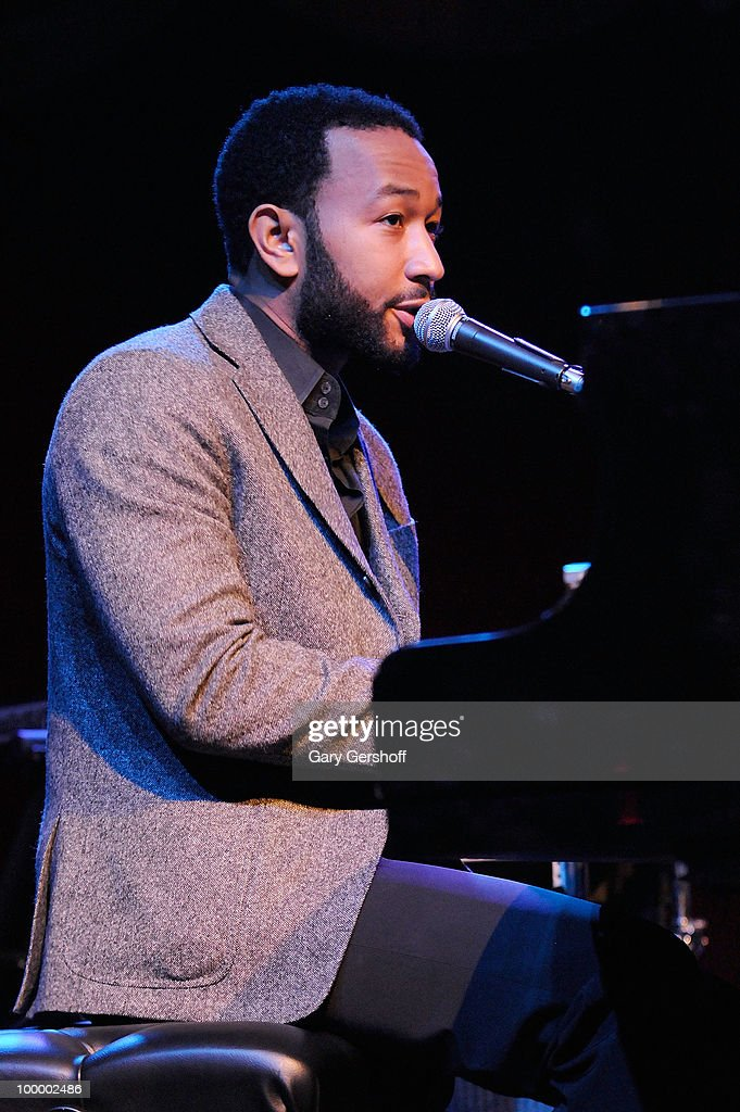 John Legend performs at Cherry Lane Music Publishing's 50th Anniversary celebration at Brooklyn Bowl on May 19, 2010 in the Brooklyn borough of New York City.