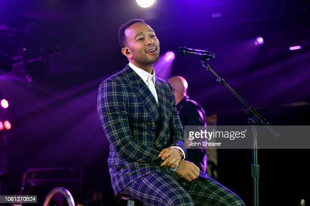 John Legend performs onstage at the BMI Country Awards 2018 at BMI Nashville on November 13 2018 in Nashville Tennessee