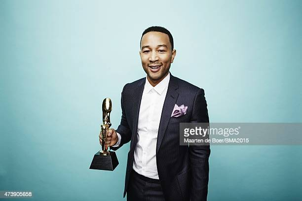 John Legend poses for a portrait at the 2015 Billboard Music Awards on May 17 2015 in Las Vegas Nevada