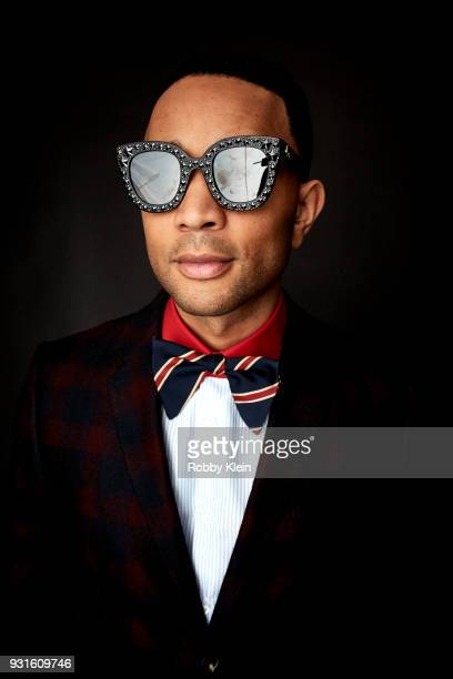 John Legend poses for a portrait at the 60th Annual GRAMMY Awards I'm Still Standing A GRAMMY Salute To Elton John at The Theater at Madison Square...