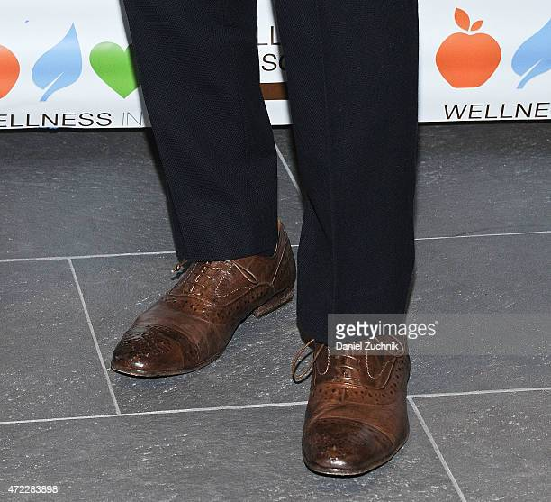 John Legend shoes detail attends the Wellness In The Schools 10th Anniversary Gala at Riverpark on May 5 2015 in New York City