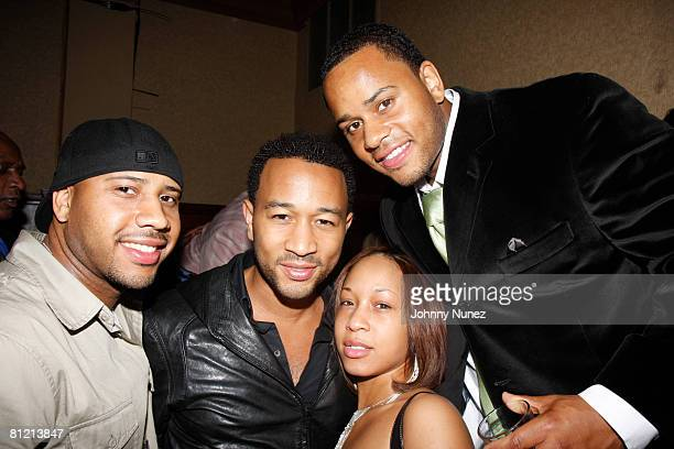 John Legend Vaughn Anthony and Their Family attend Vaughn Anthony's Birthday Bash Hosted by John Legend on May 22 2008 in New York City