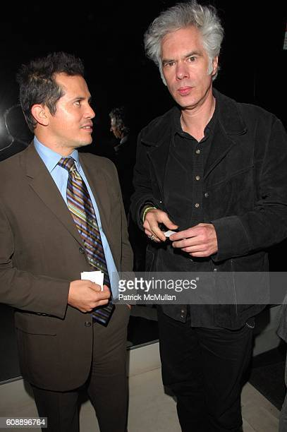 John Leguizamo and Jim Jarmusch attend GUCCI and INTERVIEW MAGAZINE host premiere and afterdinner for THE DIVING BELL and the BUTTERFLY at Zeigfeld...